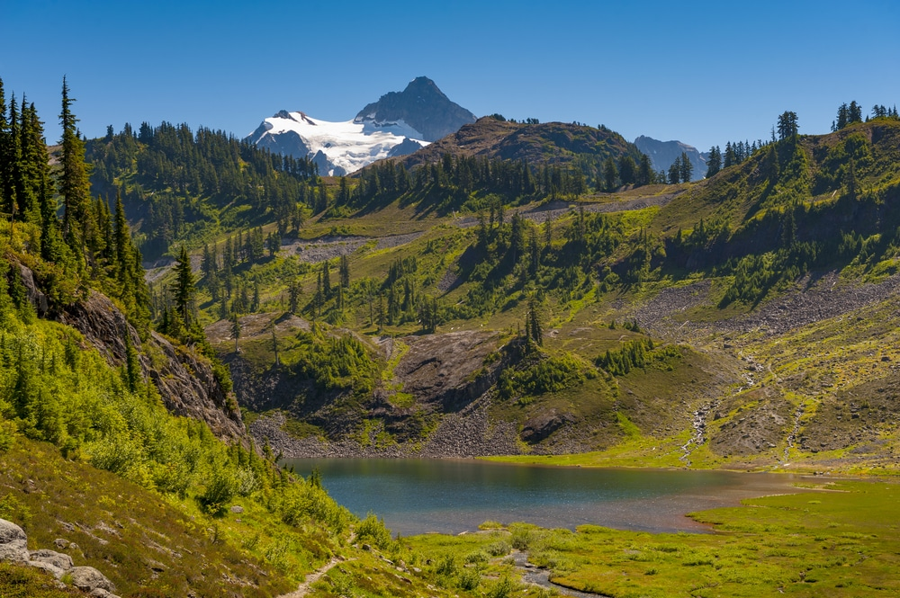 hike the Chain Lakes Loop