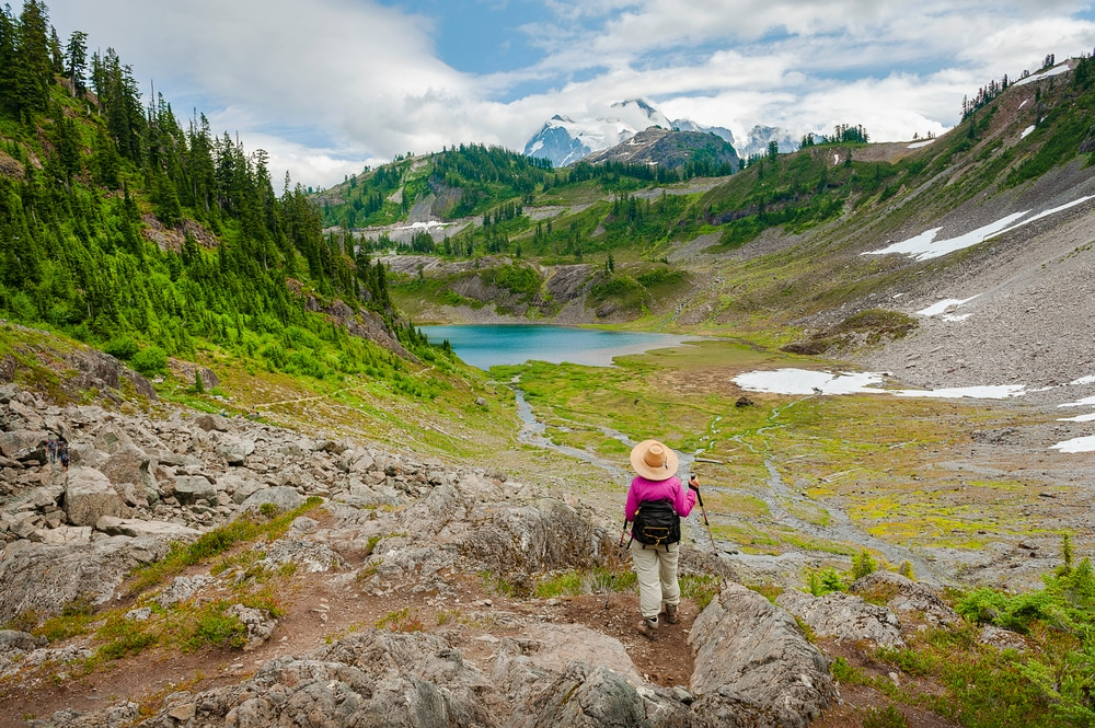 The best Mt. Baker hike this summer